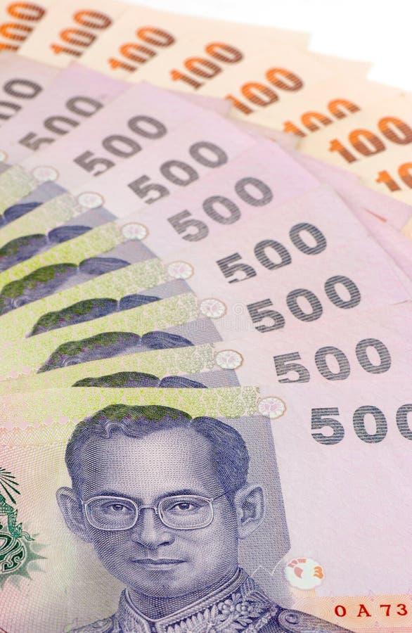 banknoty tajlandzcy zdjęcie royalty free