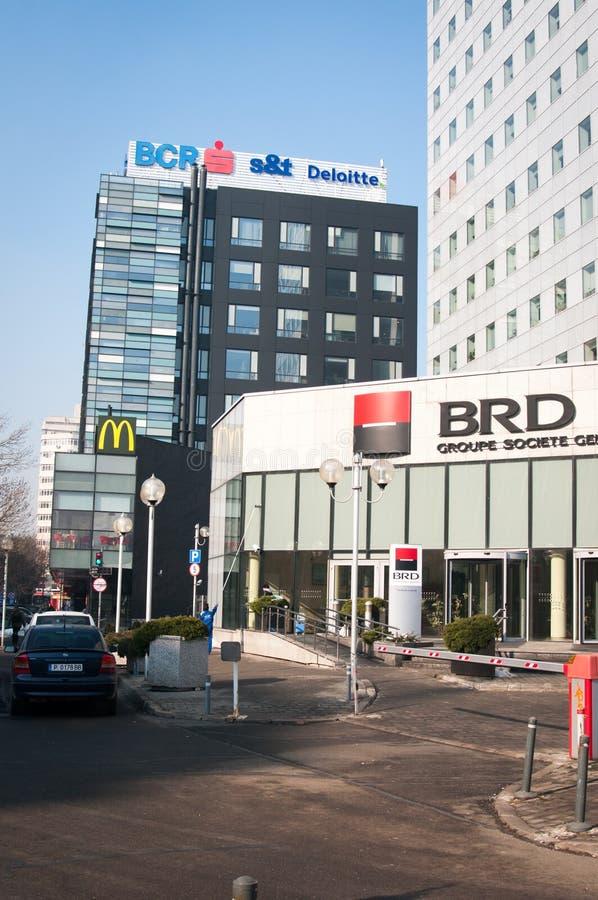 Bankowość budynki obraz stock