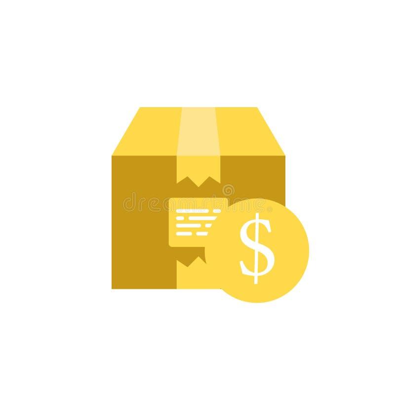 Bankowość, doręczeniowa ikona Element sieci bankowość, pieniądze ikona dla mobilnych apps i Szczegółowe bankowość, doręczeniowa i ilustracja wektor