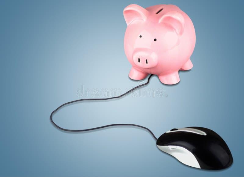 bankowość elektronicznego fotografia stock