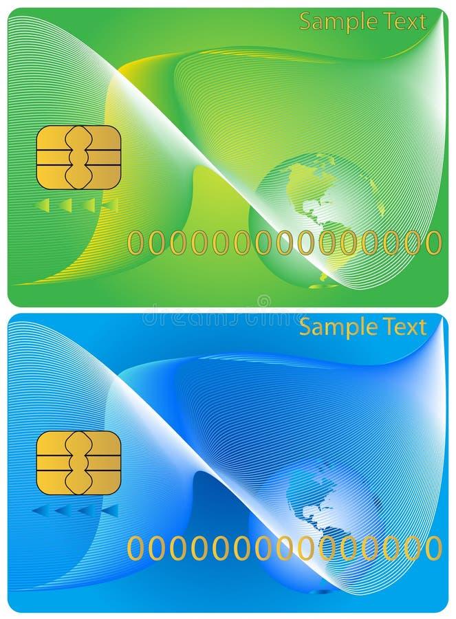 bankowość kartę. ilustracja wektor