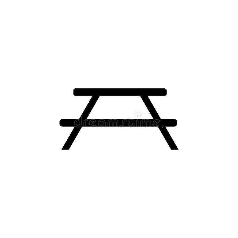 Bankpictogram Element van eenvoudig pictogram voor websites, Webontwerp, mobiele app, informatiegrafiek Tekens en symboleninzamel royalty-vrije illustratie