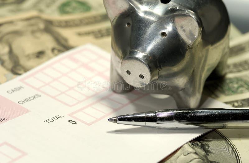 Download Bankrörelse arkivfoto. Bild av deposit, pengar, tillbakadragande - 996146