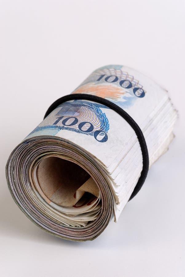 Bankroll imagem de stock
