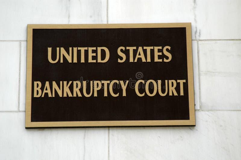 Bankrupt fotografie stock