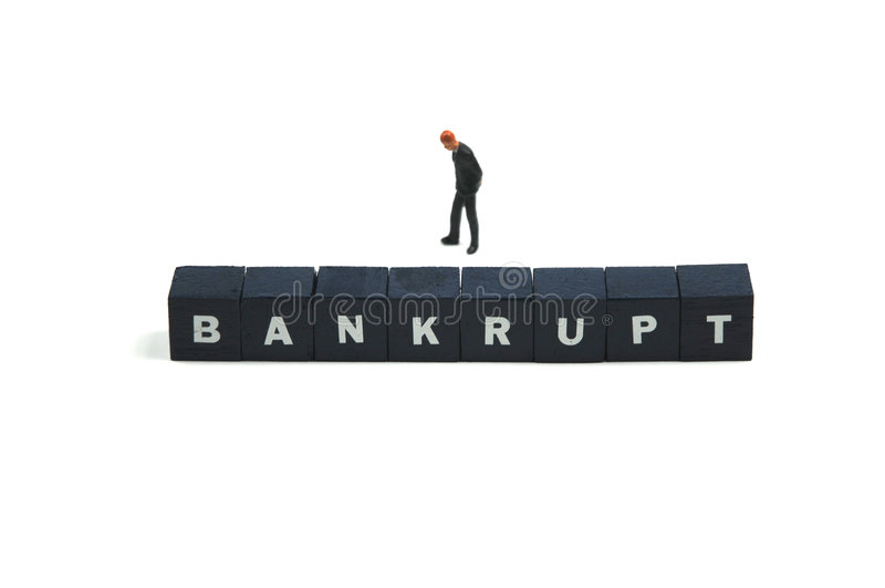 Download Bankrupt stock photo. Image of problems, debit, business - 7149952