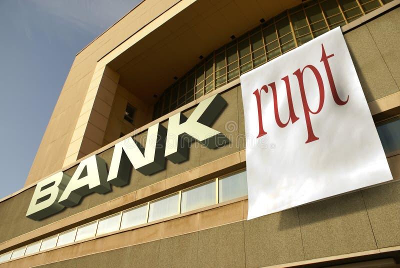 bankrupt стоковое изображение