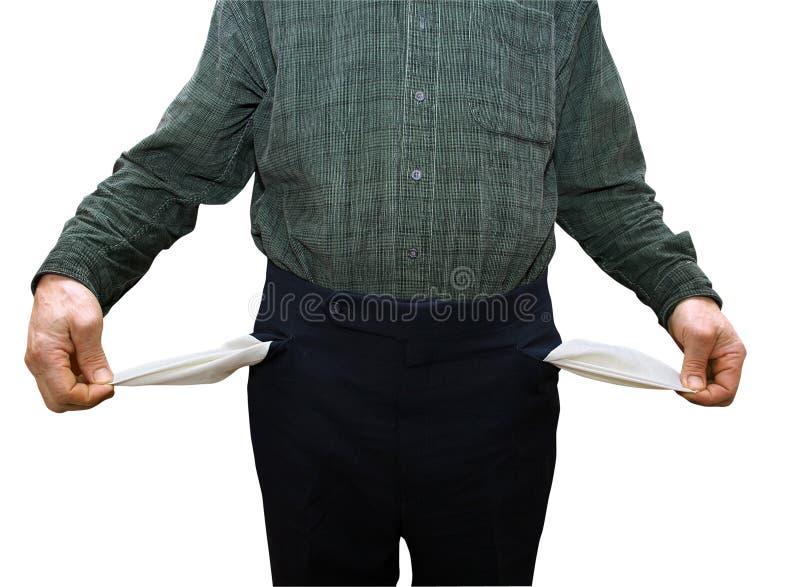 Bankrupt stockbild