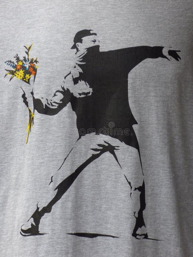 Banksy stock foto
