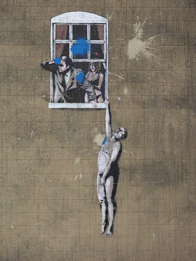 BANKSY HMV DOG ROCKET BAZOOKA Graffiti street art