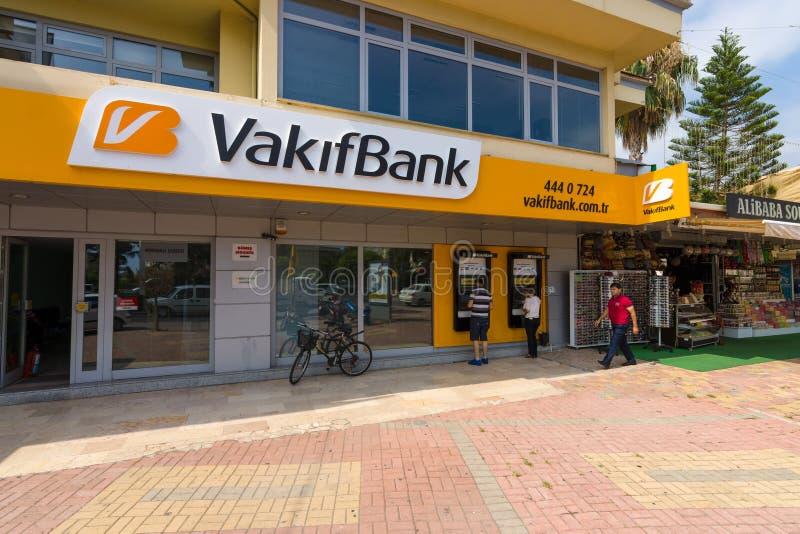 Banktak VakifBank stock fotografie