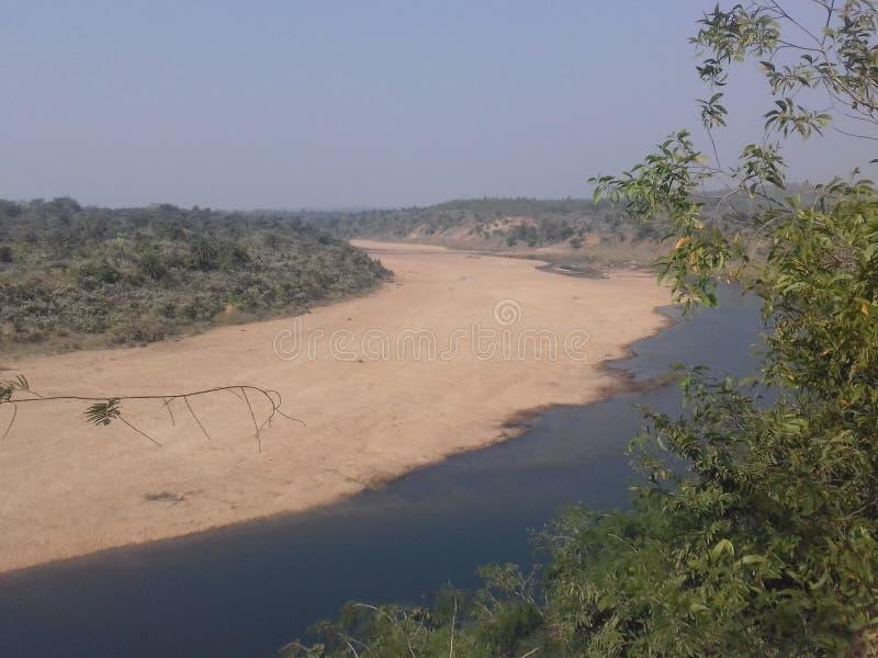 Meyendar of kangsabati river royalty free stock image