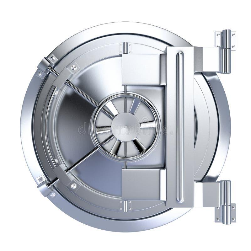 Bankvalv vektor illustrationer
