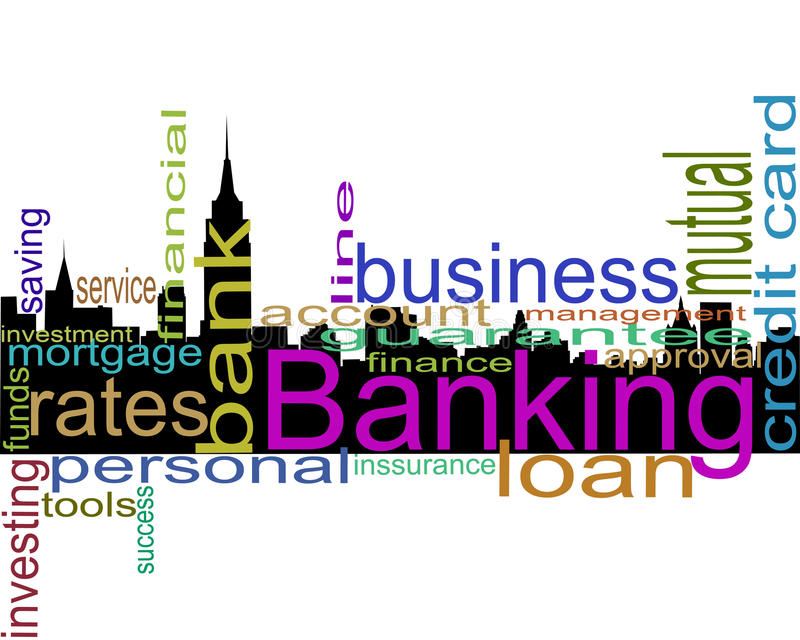 Bankverkehr lizenzfreie abbildung