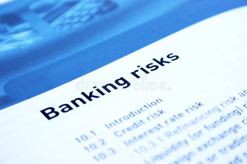 Bankverkehr stockfoto