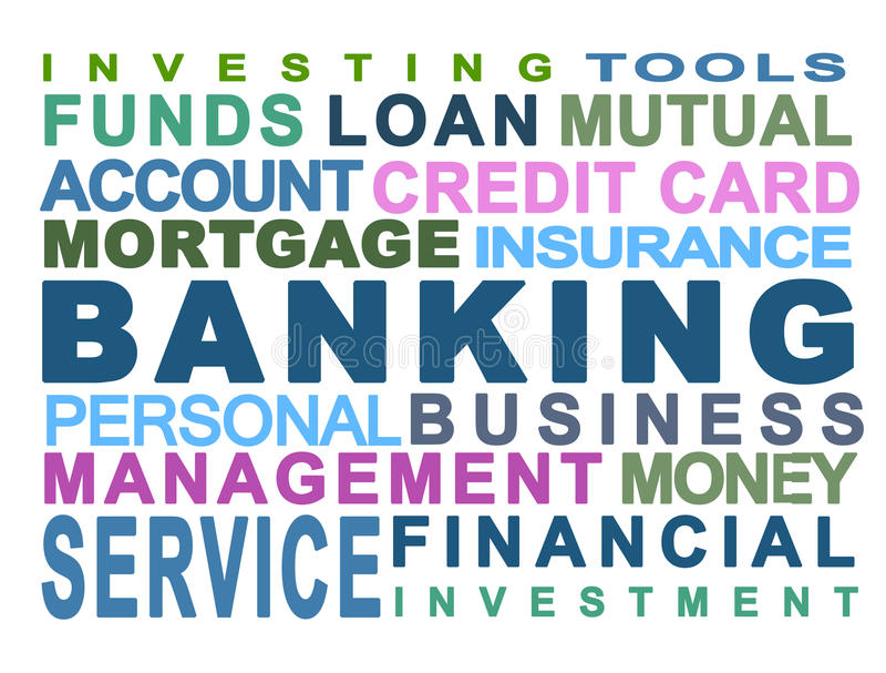 Bankwezen royalty-vrije illustratie