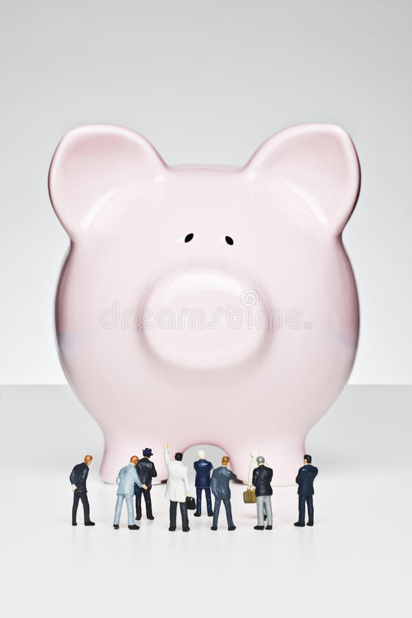 Bankzaken royalty-vrije stock afbeeldingen