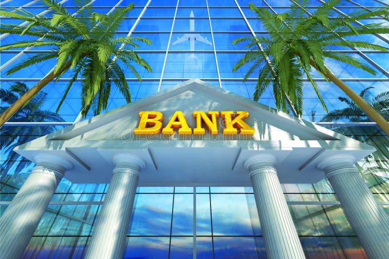 Bankzakenconcept vector illustratie
