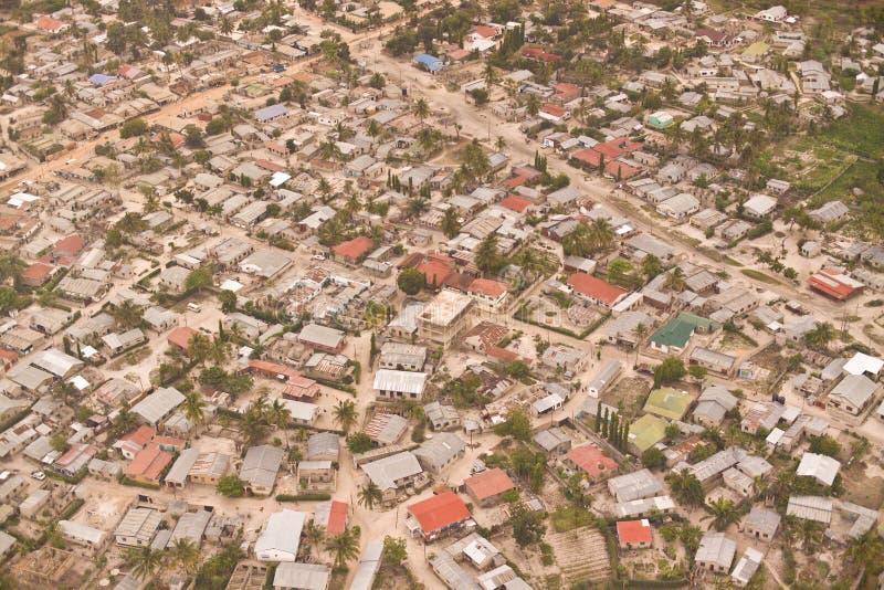 banlieue noire africaine image stock