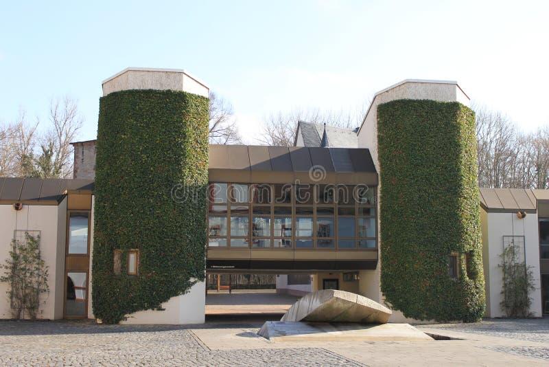 Banlieue noire Heusenstamm image libre de droits