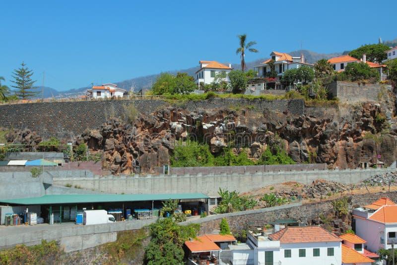 Banlieues de ville Funchal, Madère, Portugal image libre de droits