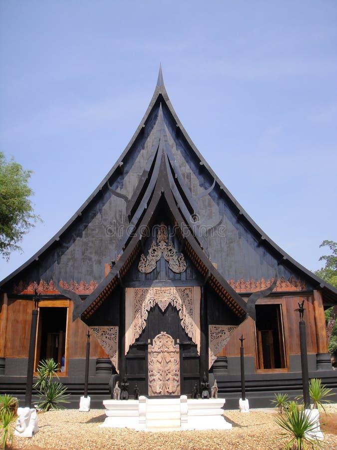 Banndamm museum, Chiangrai arkivfoto