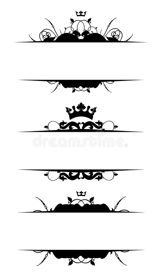 banner royalty ilustracja