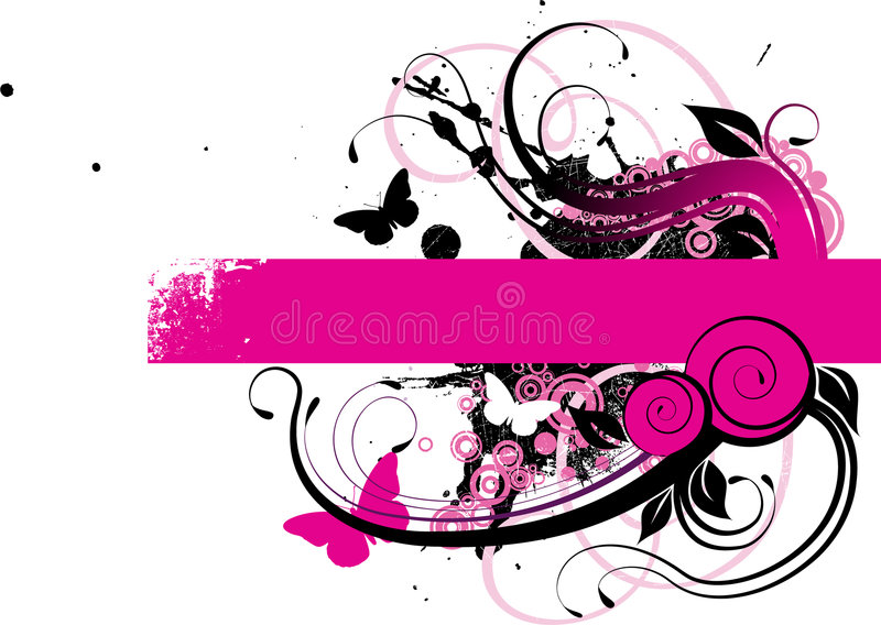 Download Banner stock vector. Image of dirt, curve, decoration - 5613017