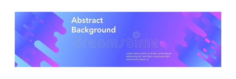 Banner abstracte moderne design_gradient moderne kleur royalty-vrije illustratie