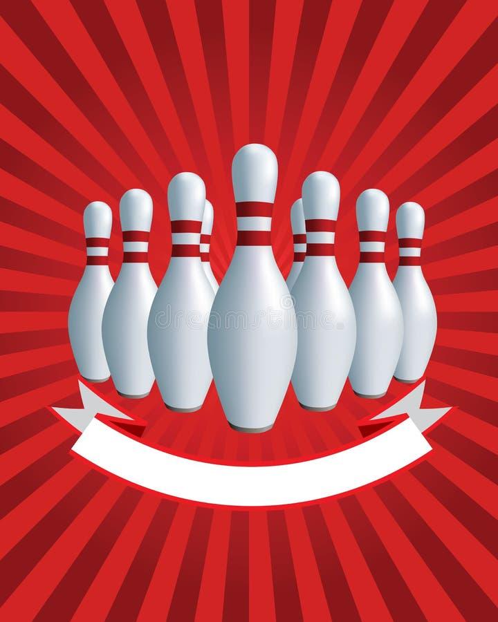Download Banner. Bowling stock vector. Image of rest, kegling - 22624201