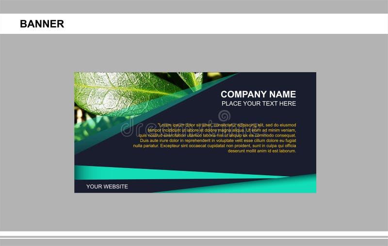 Banner, business, brand, advertising royalty free illustration