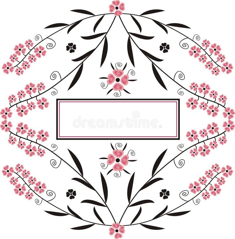 banner dekoracyjny fotografia stock