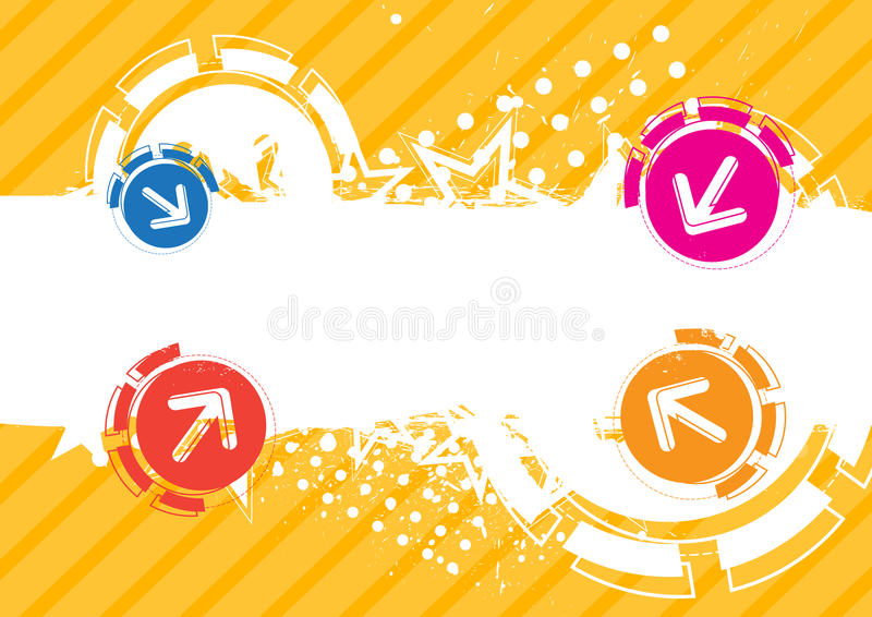 Banner Design Stock Photo