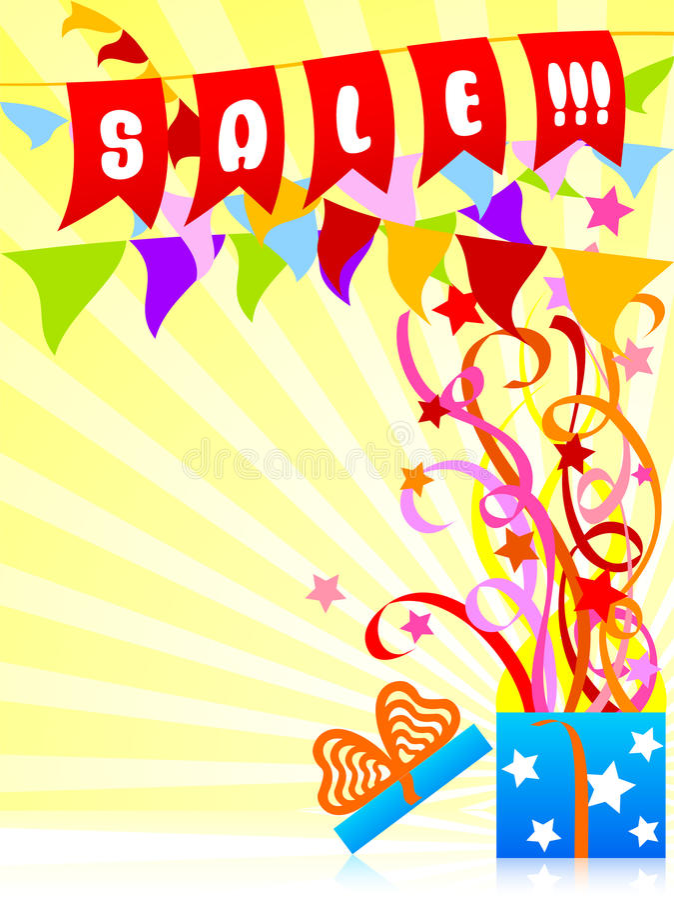 Banner for holiday sale 1 vector illustration