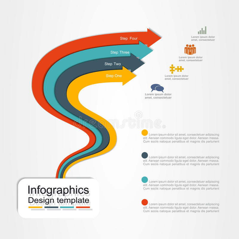 Banner infographic design template. Vector illustration. Banner infographic design template with place for your data. Vector illustration vector illustration