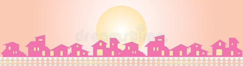 Download Banner - kindergarten stock vector. Image of chalet, kindergarten - 7085996