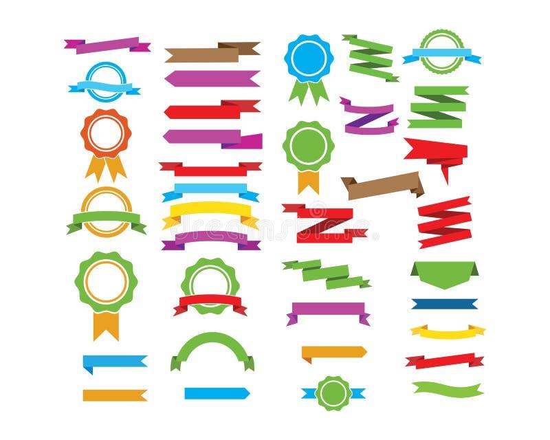 banner, lint voor het vertegenwoordigen van het vectorontwerp van etiketmarkeringen vector illustratie