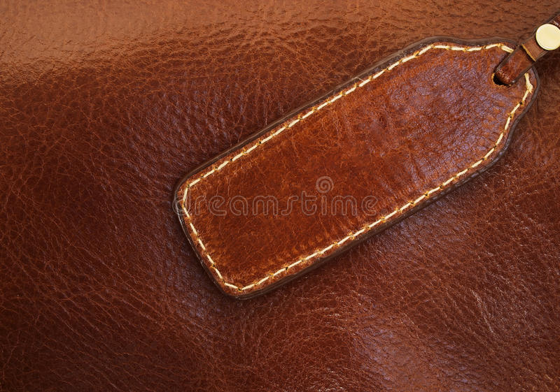 Download Banner Made of Brown Leather Stock Image - Image of worn, grungy: 19266195