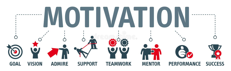 Banner Motivation - illustration vector illustration