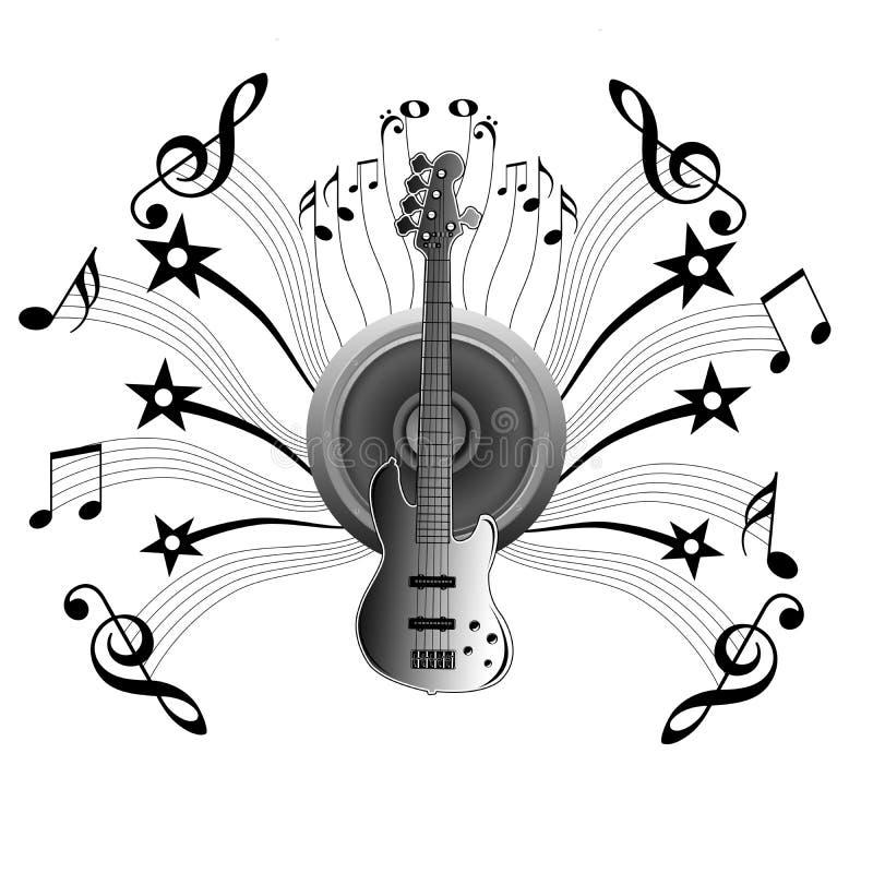Download Banner Music notes stock illustration. Illustration of funky - 17115481