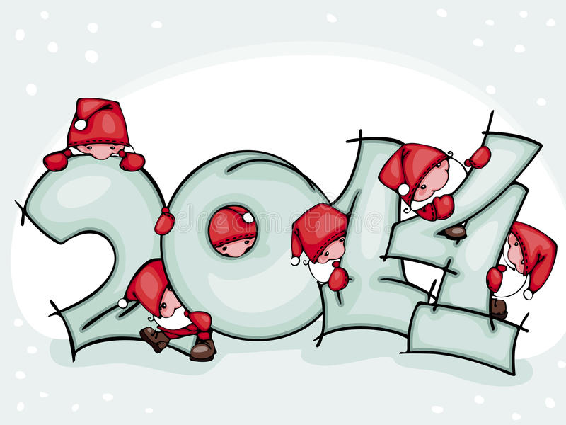Download Banner new 2014 year stock vector. Image of cute, celebration - 33698262