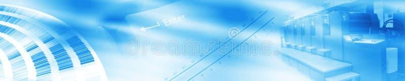 banner offset διανυσματική απεικόνιση