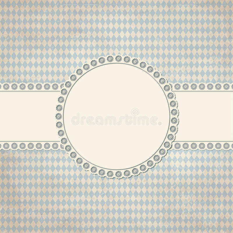 banner and patch on Oktoberfest background vector illustration