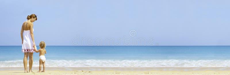 banner plaża obrazy royalty free