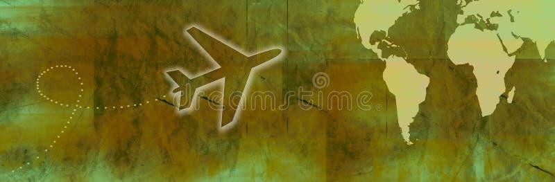 banner podróży royalty ilustracja