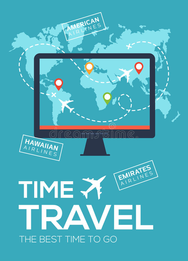 Banner poster of travel company the best time to travel monitor download banner poster of travel company the best time to travel monitor on sciox Choice Image