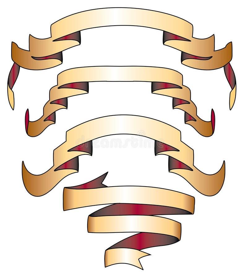 Banner-Scroll-7 иллюстрация штока