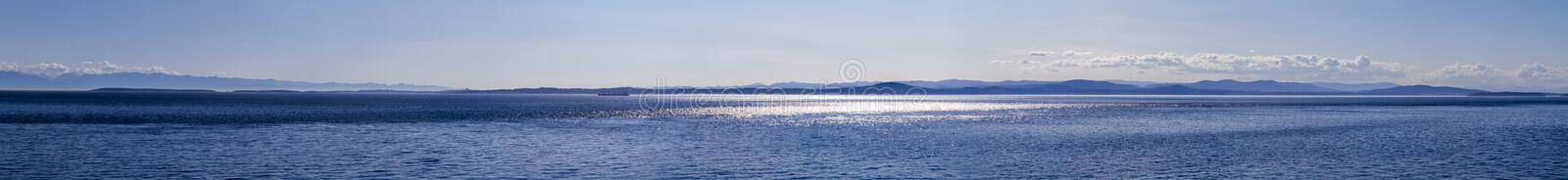 Banner of sea and sky royalty free stock images