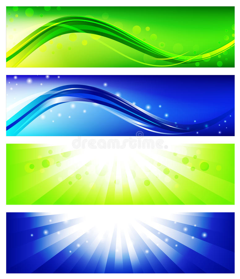 Banner Set Royalty Free Stock Photo