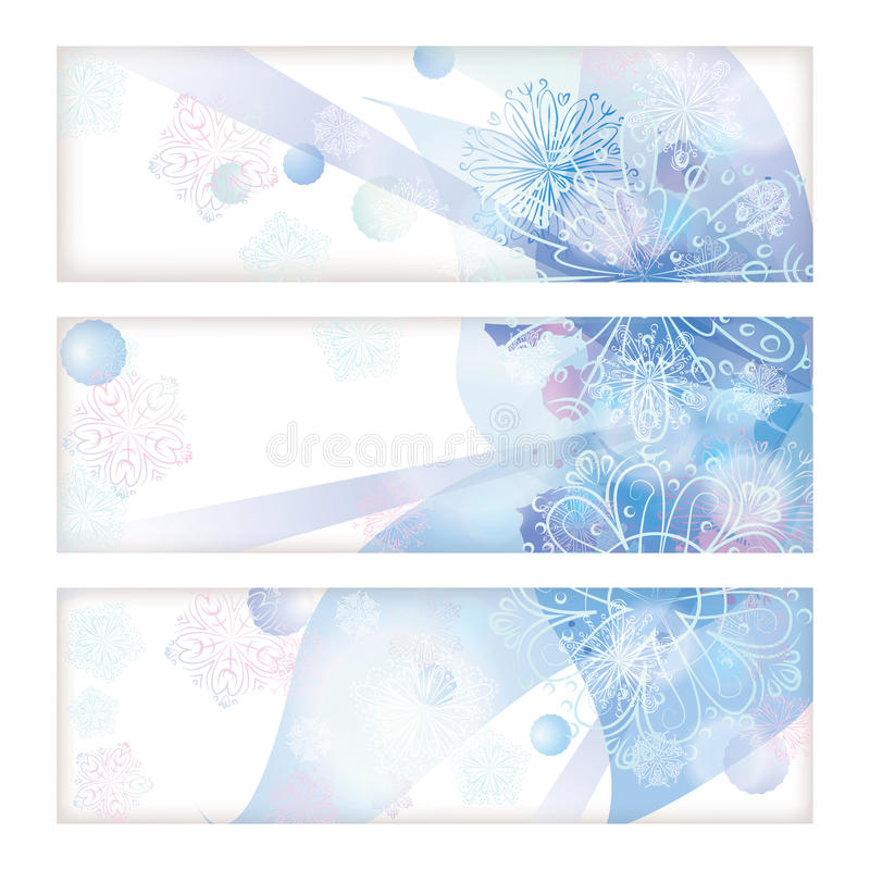 Download Banner set stock vector. Illustration of light, frozen - 25092769